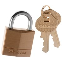 Master Lock  Brass Padlock - 30mm