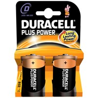 Duracell  Plus Power Batteries - D