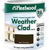Fleetwood Weather Clad Smooth Masonry Colours Paint - 5 Litre