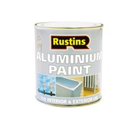 Rustins  Quick Dry Aluminium Paint - 500ml