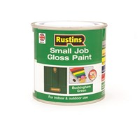 Rustins  Small Job Gloss Paint Buckingham Green - 250ml