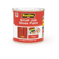 Rustins  Small Job Gloss Paint Poppy - 250ml