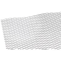 Catnic  Galvanised Expanded Metal Diamond Lath - 2.5m