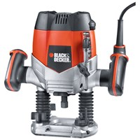 Black & Decker  KW900EKA Variable Speed 1/4in Router - 1200 Watt