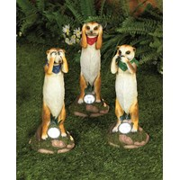 Premier Decorations  Meerkat Garden Solar Light Set