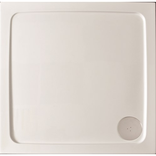 Kristal Low Profile Square Shower Tray 800 x 800mm