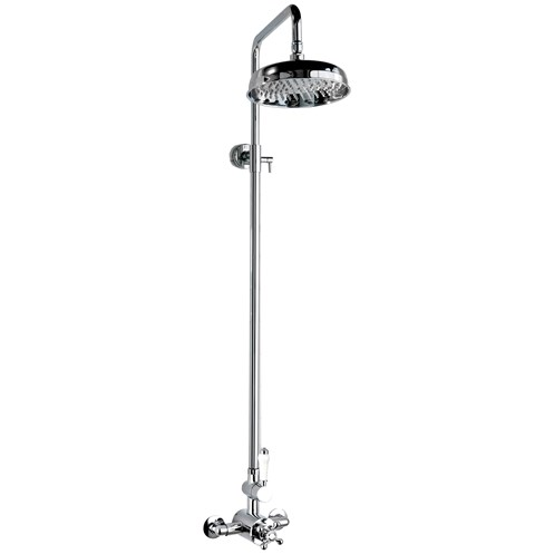 Deluge Traditional Shower Riser Kit