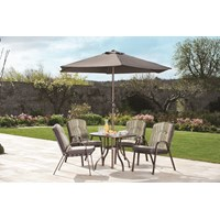 Richmond 4 Seater Round Furniture Set