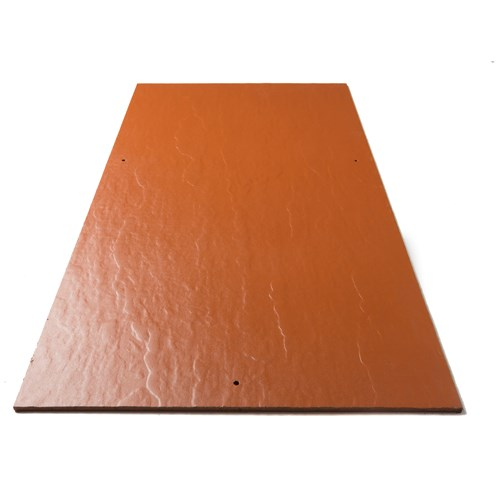 Tegral Thrutone Plus Coloured Relief Slates 600 x 300mm - Terracotta