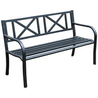 Culcita  Soft Cross Steel Park Bench