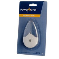 Powermaster  Plug In Led Night Light - 1W