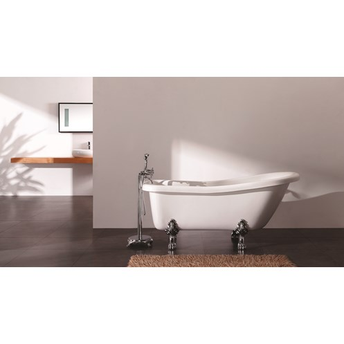 Viceroy Traditional Free Standing Bath 1530 x 670
