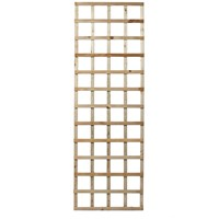 Independent Fencing  Heavy Square Lattice Trellis Panel - 600 x 1800mm