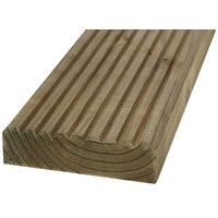 SNR  Treated Flat Decking Timber Board - 150 x 35mm