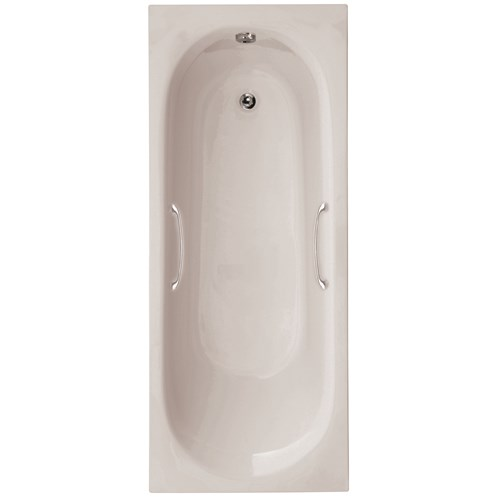 Lotus 1700 X 700 Bath with Twin Grips