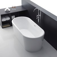 Apollo 170cm x 80cm Free Standing Bath White